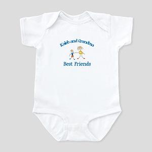 Kaleb & Grandma - Best Friend Infant Bodysuit