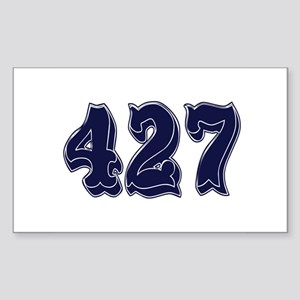 427 Rectangle Sticker
