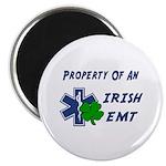 "Irish Emt Property 2.25"" Magnet (100 Pack) Ma"