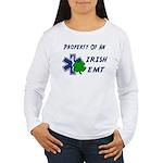 Irish EMT Property Women's Long Sleeve T-Shirt