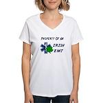 Irish EMT Property Women's V-Neck T-Shirt