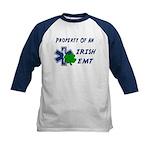 Irish EMT Property Kids Baseball Jersey