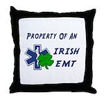 Irish EMT Property Throw Pillow