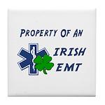 Irish EMT Property Tile Coaster