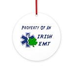 Irish EMT Property Ornament (Round)
