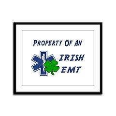 Irish EMT Property Framed Panel Print