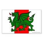 Midrealm Ensign Rectangle Sticker 50 pk)