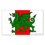 Midrealm Ensign Rectangle Sticker 10 pk)