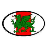 Midrealm Ensign Oval Sticker (50 pk)
