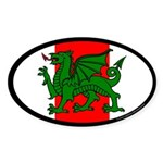 Midrealm Ensign Oval Sticker (10 pk)