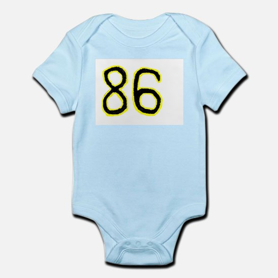 #86 Steelers Fan Infant Creeper