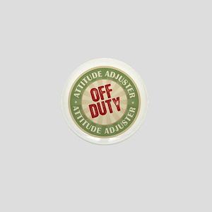 Off Duty Attitude Adjuster Mini Button