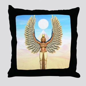 Isis Throw Pillow