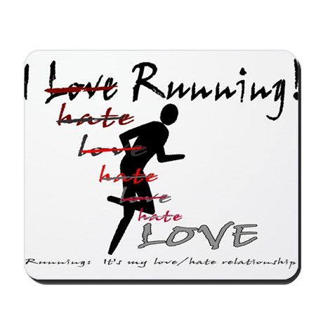 love/hate relationship Mousepad