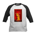 Obey the Whippet! Kids Baseball Jersey