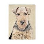Welsh Terrier Twin Duvet Cover