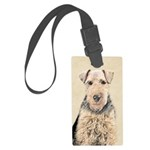 Welsh Terrier Large Luggage Tag