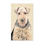 Welsh Terrier Rectangle Car Magnet