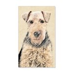 Welsh Terrier 20x12 Wall Decal