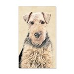 Welsh Terrier 35x21 Wall Decal