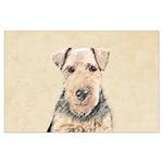 Welsh Terrier Large Poster