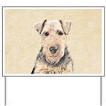 Welsh Terrier Yard Sign