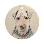 Welsh Terrier Round Ornament