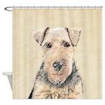 Welsh Terrier Shower Curtain
