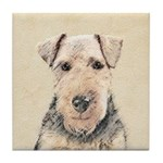 Welsh Terrier Tile Coaster