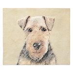 Welsh Terrier King Duvet