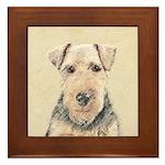 Welsh Terrier Framed Tile