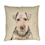 Welsh Terrier Everyday Pillow