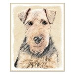 Welsh Terrier Small Poster