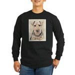 Welsh Terrier Long Sleeve Dark T-Shirt