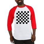 Chess Checker Board Baseball Tee