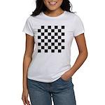 Chess Checker Board Women's Classic T-Shirt