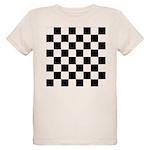 Chess Checker Board Organic Kids T-Shirt