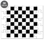 Chess Checker Board Puzzle