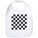 Chess Checker Board Cotton Baby Bib