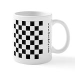 Chess Checker Board 11 oz Ceramic Mug