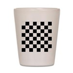 Chess Checker Board Shot Glass