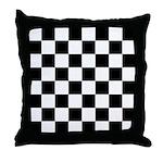 Chess Checker Board Throw Pillow
