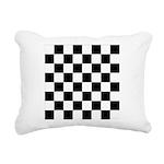 Chess Checker Board Rectangular Canvas Pillow
