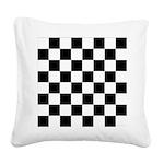 Chess Checker Board Square Canvas Pillow