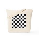 Chess Checker Board Tote Bag
