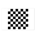 Chess Checker Board Postcards (Package of 8)