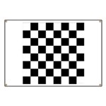 Chess Checker Board Banner