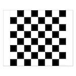 Chess Checker Board Small Poster