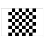 Chess Checker Board Large Poster