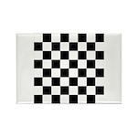 Chess Checker Board Rectangle Magnet